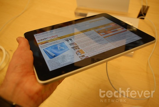 apple ipad hands-on techfieber