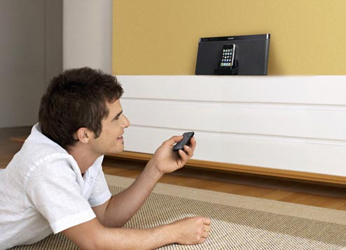 sony rdp xf100ip ipod dock lifestyle