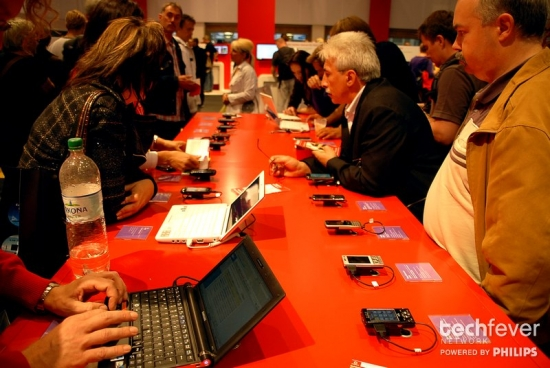 IFA 2009 Vodafone Mobilfunk