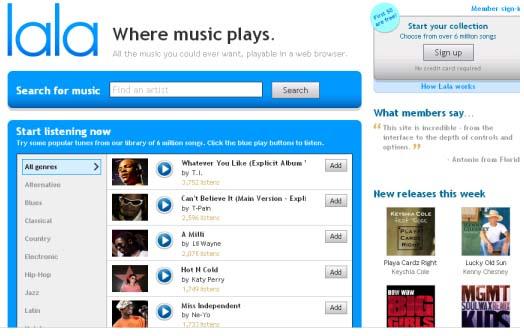 Apple Online Musik Lala