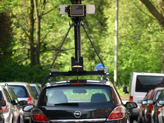 Google street View Merkel