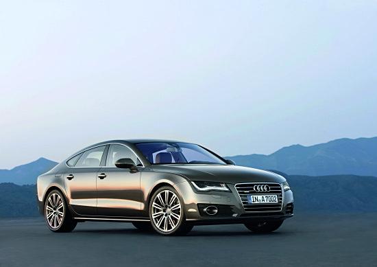 Новая спортивная модель Audi A7 - Sportback DeLuxe Coupé