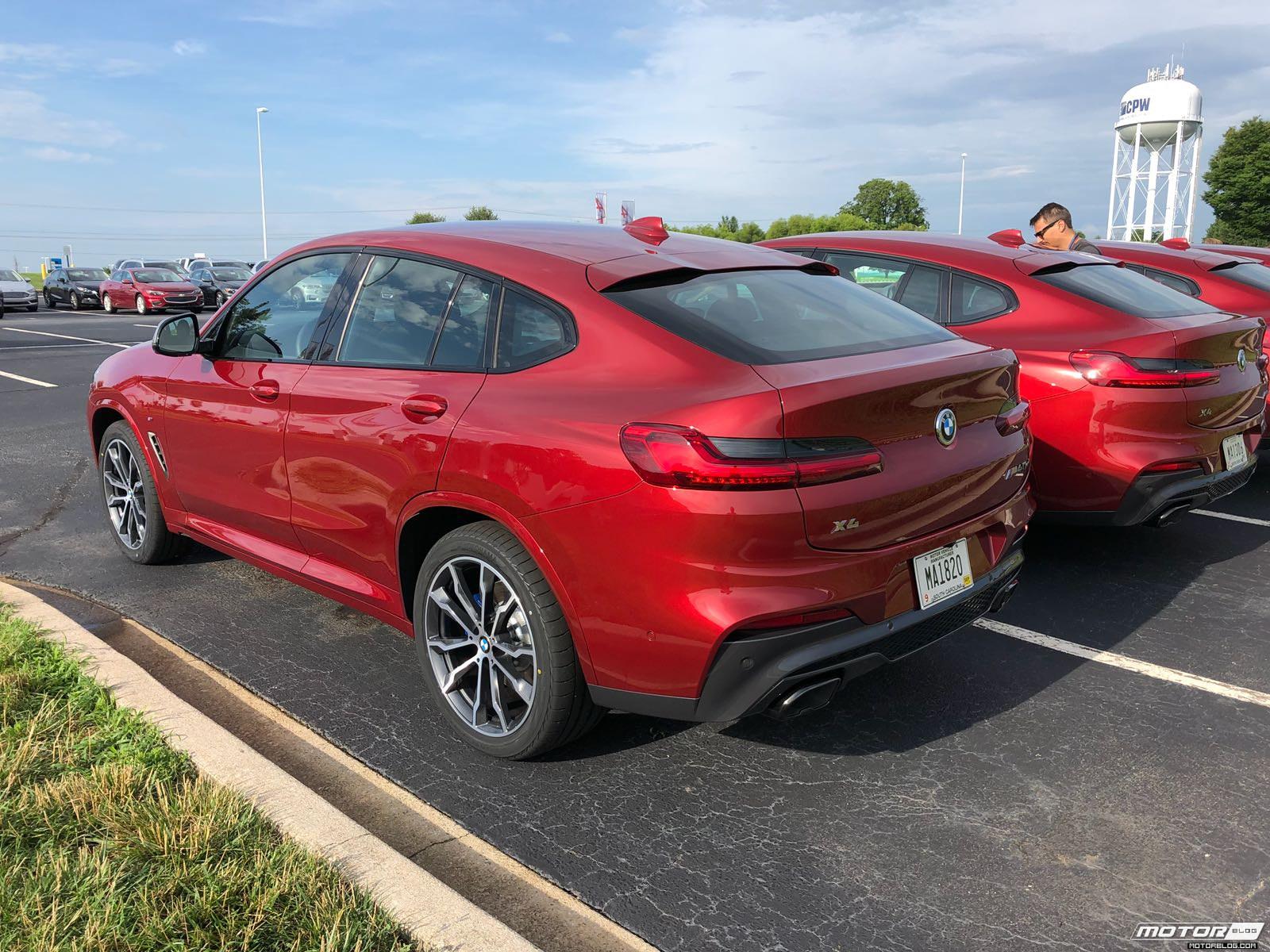 BMW x4 2018 Premiere Spartanburg media event 9