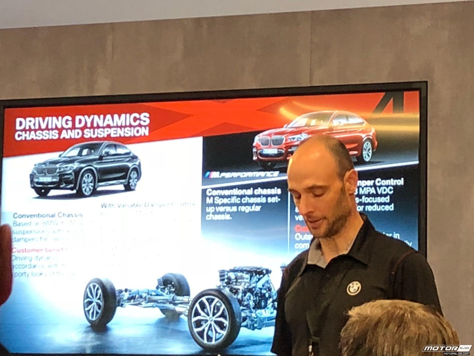 BMW x4 2018 Premiere Spartanburg media event Briefing