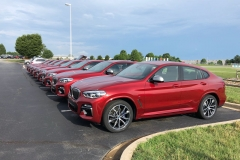 BMW x4 2018 Premiere Spartanburg media event 11