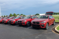 BMW x4 2018 Premiere Spartanburg media event 8