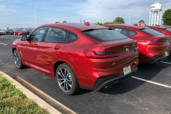 BMW x4 2018 Premiere Spartanburg media event 9