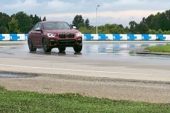 BMW x4 2018 Premiere Spartanburg media event Drift 2