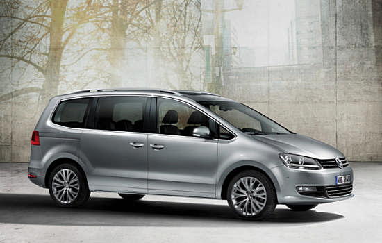 New Volkswagen Sharan