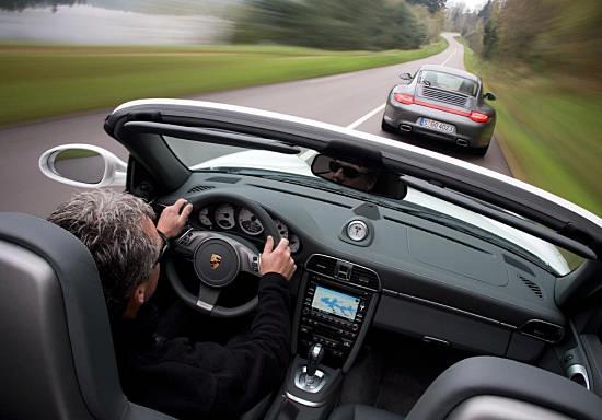 Porsche 911 Carrera лучший спортивный автомобиль