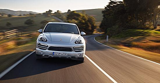 Новый Porsche Cayenne V6