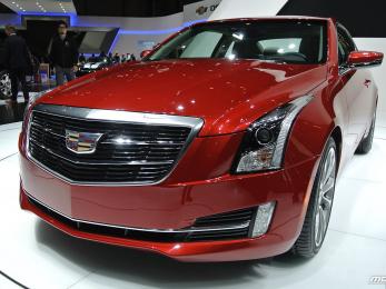 Cadillac ATS Coupe - Geneva Motor Show