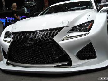 Lexus RC F GT3 Concept - world premiere Geneva