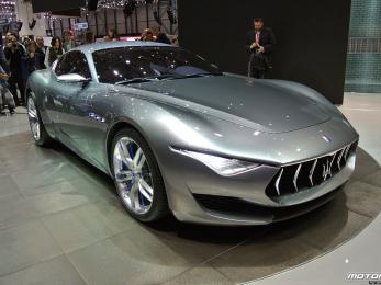 Maserati Alfieri - world premiere Geneva