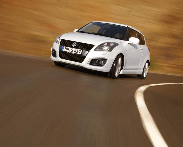 Новый Suzuki Swift Sport