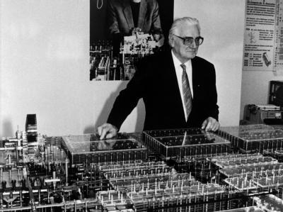 Computer Erfinder Konrad Zuse