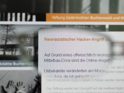 KZ Buchenwald gehackt BKA fahndung Nazi hacker