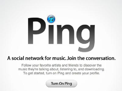 Ping Apple Spam Attacke Musik-Netz Social Network