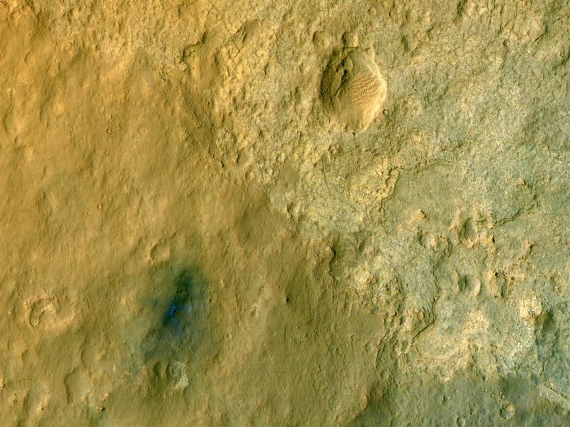 [Space] Mars Rover: Sonde schickt erstes Farbfoto von «Curiosity»