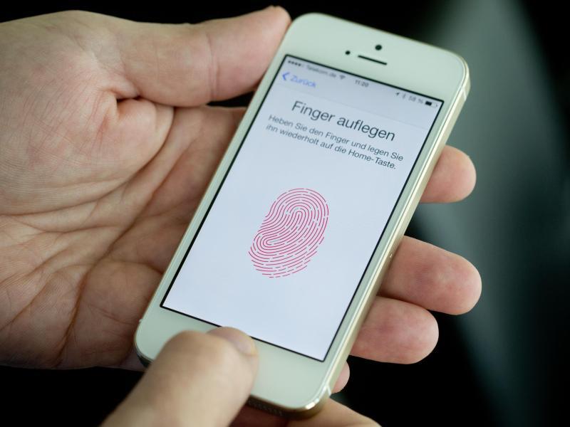iPhone5s | Fingerabdruck-Sensor im neuen iPhone beflügelt Biometrie-Branche