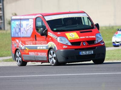 Автофургоны Renault Trafic Trophy