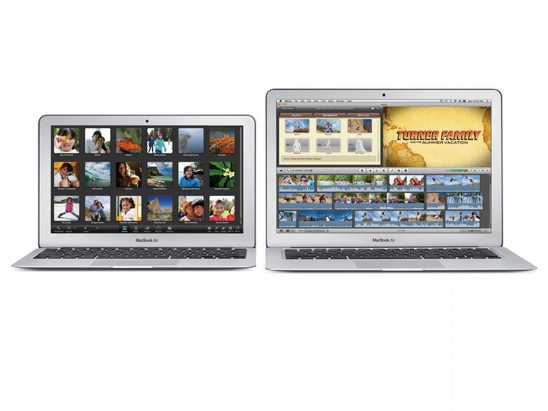 Apple представляет новый MacBook Air
