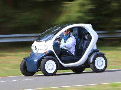 Renault Twizy - электромобиль