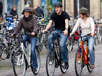 Новые велосипедные шлемы