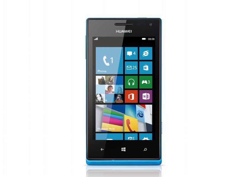 Neues von der CES: Huawei bringt sein erstes Windows-8-Phone Ascend W1