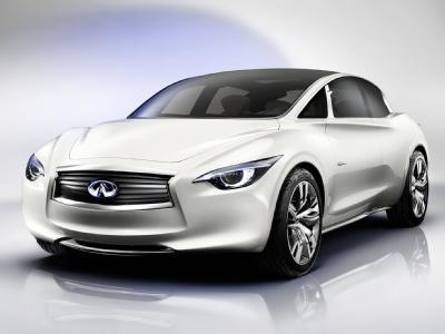 Infiniti представит новый пятиместный автомобиль