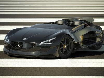 Peugeot разработал новый электромобиль
