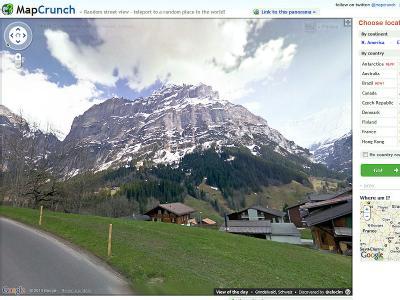 Виртуальное путешествие с Google Street View