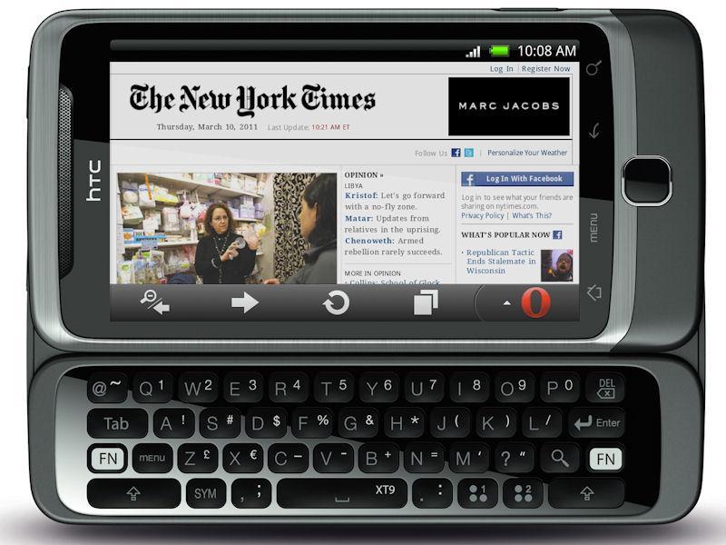Версия сайта для мобильных телефонов 5