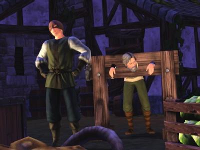 Новые задания для Sims в средневековье