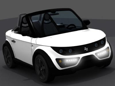 Электро-авто Tazzari Zero