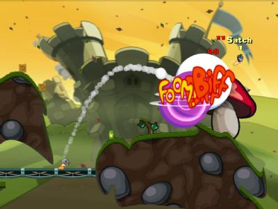 [Gaming] Wenn Würmer zur Bazooka greifen: «Worms Reloaded»