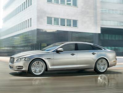 Jaguar изготовил XJ - бронированный лимузин