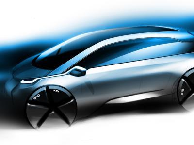 Электрический автомобиль BMW