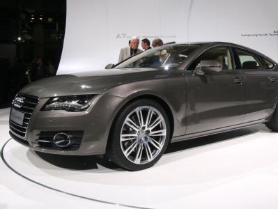 Audi A7:новый купе