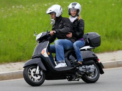 Мотоцикл Kymco