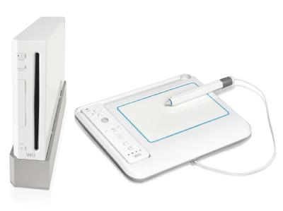 Zeichentablett Nintendo Wii Künstler-Atelier