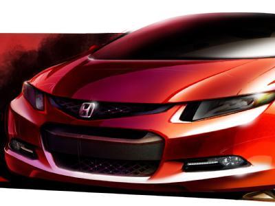 Новая модель Civic от Honda