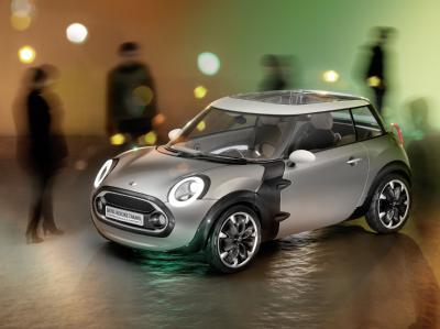 Mini представит новую модель на Женевской выставке