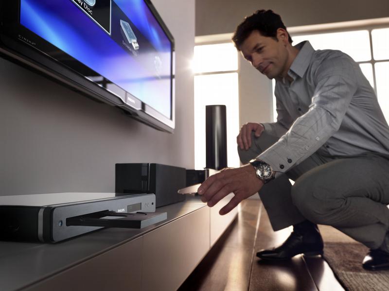 Blu-Ray плеер делает гостиную центром домашнего кинотеатра