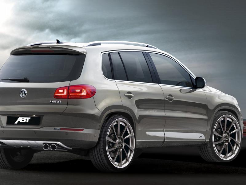 Abt освежил VW Tiguan
