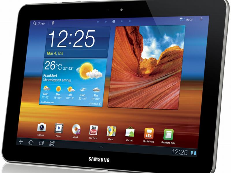 Samsung Galaxy Tab уже в продаже