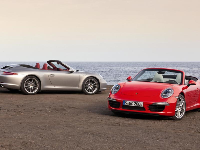 Porsche имеет планы на Cabrio в 2012 году