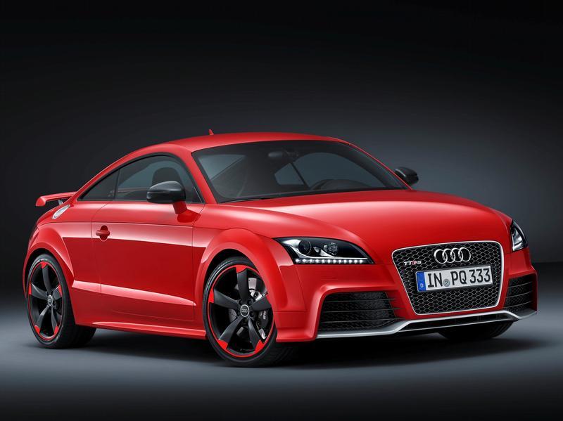 Audi TT RS Plus производит 360 л.с.