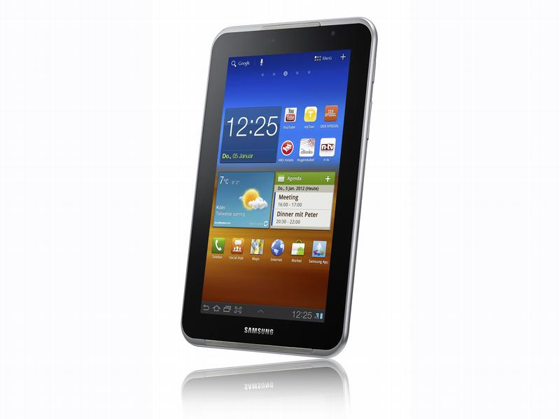 [MWC] [Tablets] Samsung bringt des Galaxy Tablet als 7-Zoll-Version: Galaxy Tab 7.0 Plus N