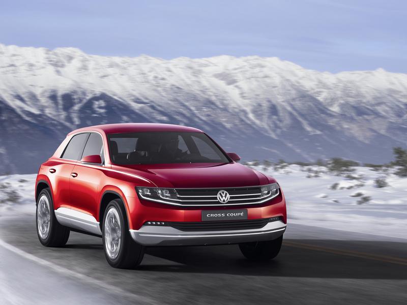 Новый Volkswagen CrossCoupé